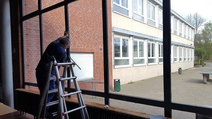 Fensterfolie als Splitterschutzfolie