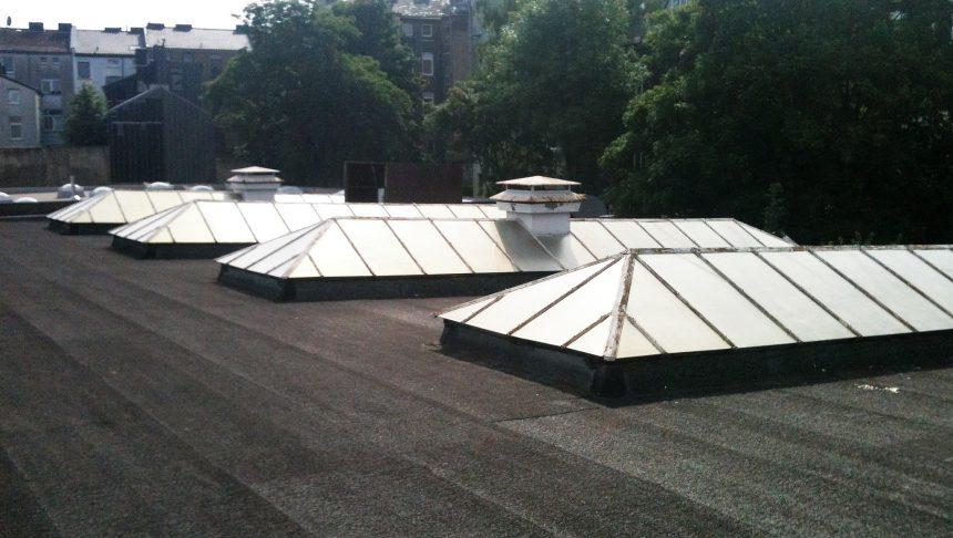 Sonnenschutzlack für Industrieverglasung