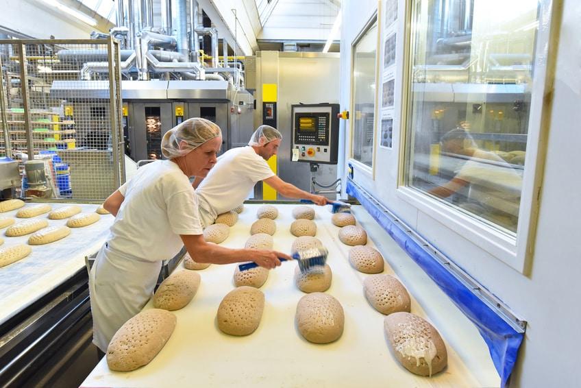 Lebensmittelhersteller Splitterschutz