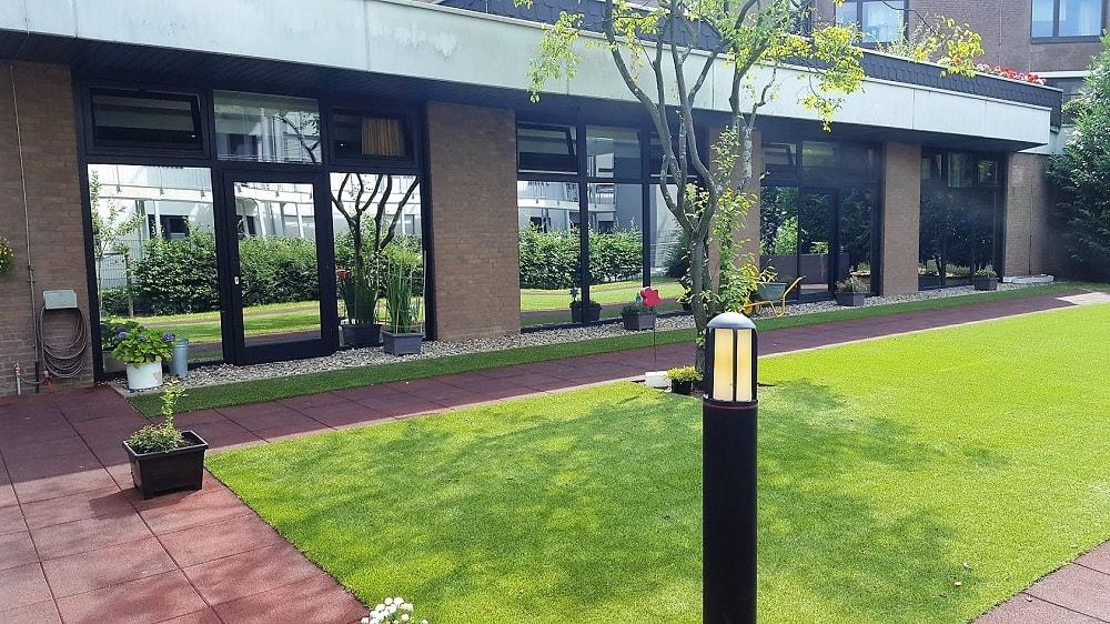 Sonnenschutzfolie für Seniorenheim